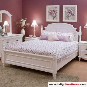 Set Kamar Mewah Warna Duco Putih