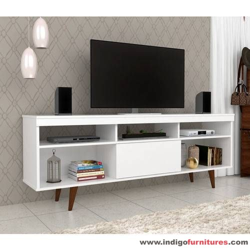 Meja Tv Minimalis Modern Warna Putih