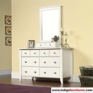 Meja Rias Minimalis Putih Kemmerer